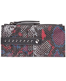 INC Glam Python-Embossed Card Case, Created for Macy's