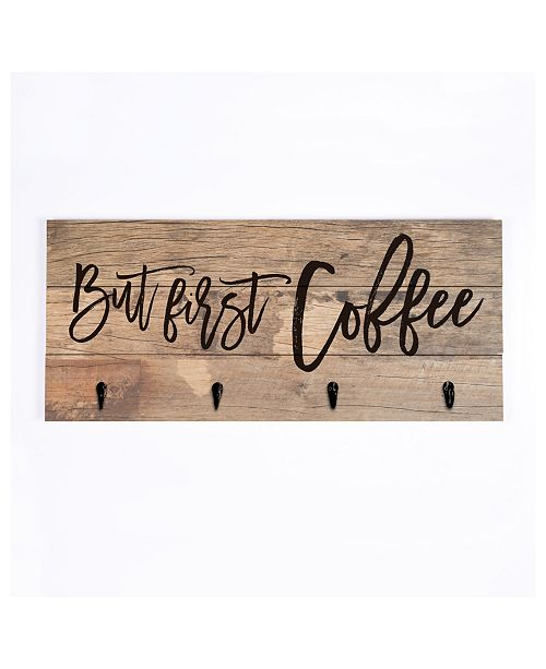 P Graham Dunn But First Coffee Wall Art