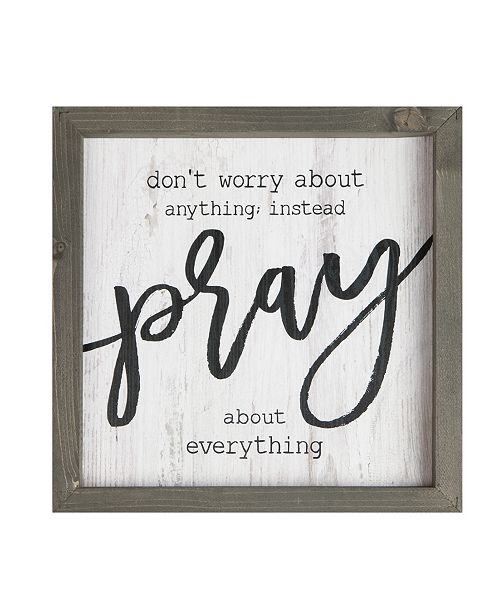 P Graham Dunn Don'T Worry About Anything Wall Art