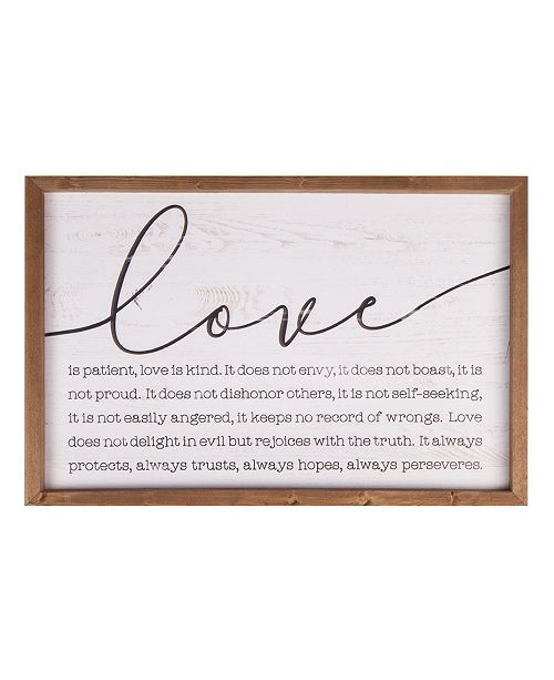 P Graham Dunn Love Wall Art
