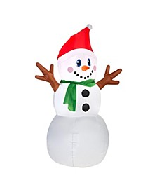 4 ft. Inflatable Snowman