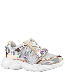 Toddler, Little and  Big Girls Jasminda Fashion Sneaker