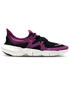 Women's Free Run 5.0 Running Sneakers from Finish Line