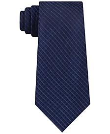 Men's Dual Grid Check Tie