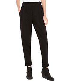 Pull-On Cuffed Pants, Created for Macy's