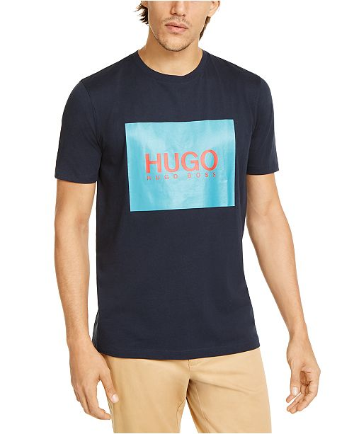 HUGO Men's Dolive201 Logo Graphic T-Shirt