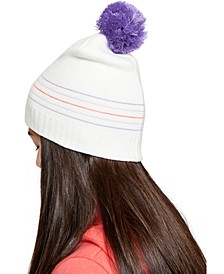 Little Girls Knit Triple Scoop Beanie