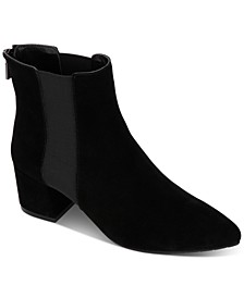 Kick Block-Heel Booties