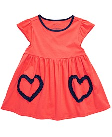 Toddler Girls Cotton Heart Tunic, Created For Macy's