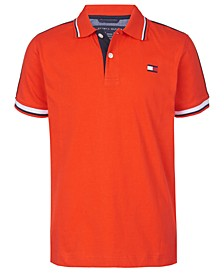 Big Boys Jim Logo Tape Polo Shirt