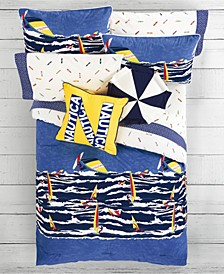 Kids Surf the Waves 3-Piece Full Comforter Set