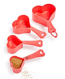 Heart 4-Pc. Measuring Cup Set, Created For Macy's