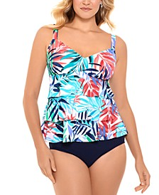Tiered Tankini Top & Bottoms, Created for Macy's
