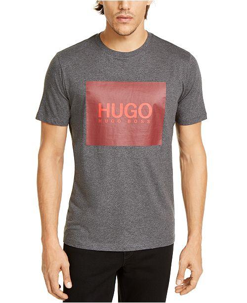 HUGO Men's Dolive201 Logo Graphic T-Shirt