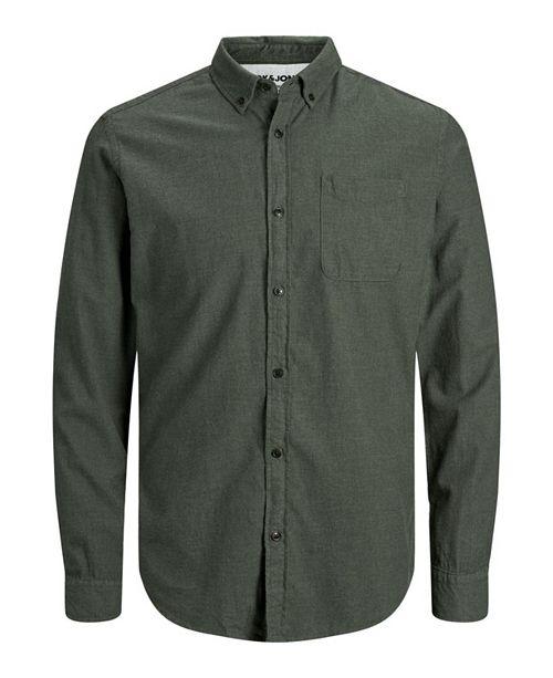 Jack & Jones Men's Flannel Long Sleeve Shirt