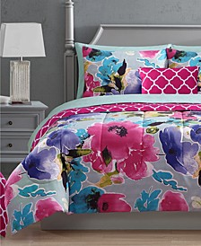 Ada 12-Pc. Reversible Comforter Sets