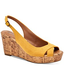 Stacia Wedge Sandals, Created for Macy's