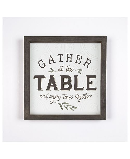 P Graham Dunn Gather At The Table And Enjoy Time Together Wall Art