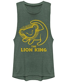 Juniors' Lion King Stamp Festival Muscle Tank Top