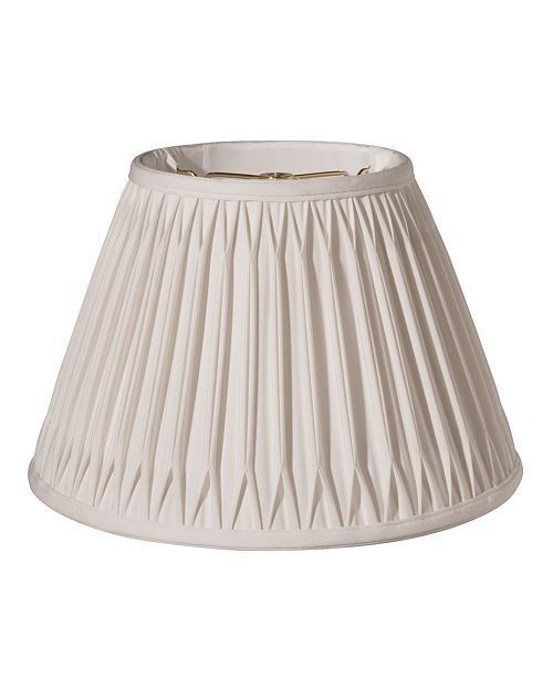 Cloth&Wire Slant Bell Double Smocked Pleat Softback Lampshade
