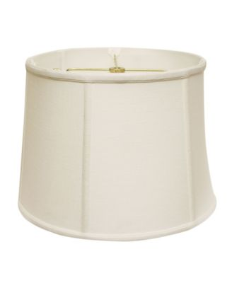 Slant Retro Drum Softback Lampshade with Washer Fitter