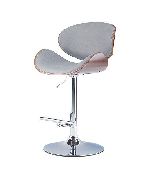 Simpli Home Marana Adjustable Barstool