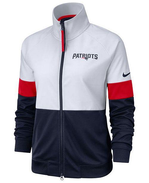 Nike Women's New England Patriots Track Jacket