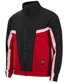 Men's Chicago Bulls Courtside Tracksuit Jacket