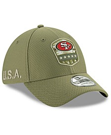 San Francisco 49ers On-Field Salute To Service 39THIRTY Cap