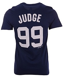 Men's Aaron Judge New York Yankees Official Player T-Shirt
