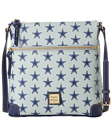 Dooney & Bourke Dallas Cowboys Saffiano Large Crossbody