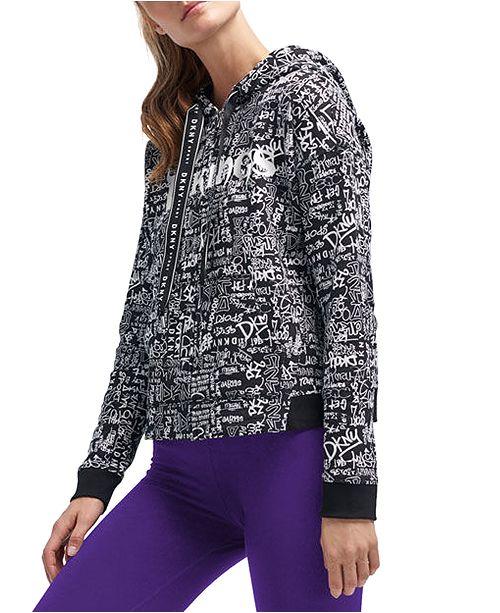 Lids DKNY Women's Minnesota Vikings Urban Hoodie