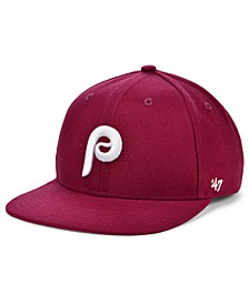 Boys' Philadelphia Phillies Basic Coop Snapback Cap