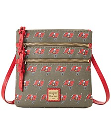 Tampa Bay Buccaneers Saffiano Triple Zip Crossbody