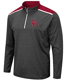 Men's Oklahoma Sooners Snowball Quarter-Zip Pullover