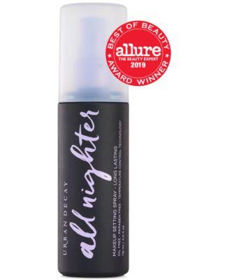All Nighter Makeup Setting Spray - Long Lasting, 4 oz