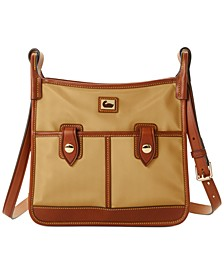 Wayfarer Camden Nylon Double Pocket Crossbody