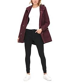Women's Cotton Hooded Fishtail Parka Jacket