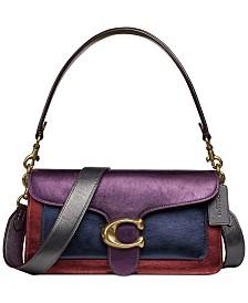 Metallic Colorblock Tabby Shoulder Bag 26
