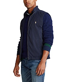 Men's Full-Zip Mockneck Vest