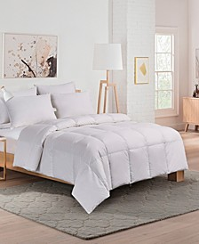 Extra Warmth White Down Fiber Comforter, Twin