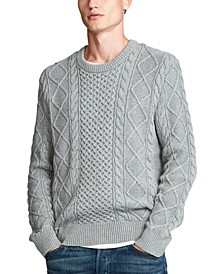 Men's Cotton Long Sleeve Sweater