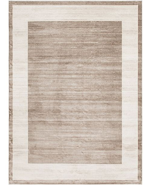 Jill Zarin Yorkville Uptown Jzu007 Light Brown 9' x 12' Area Rug