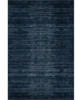 Madison Avenue Uptown Jzu001 Navy Blue 4' x 6' Area Rug