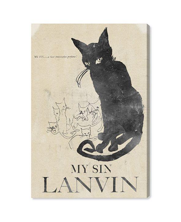 """Oliver Gal My Sin Canvas Art, 24"""" x 36"""""""