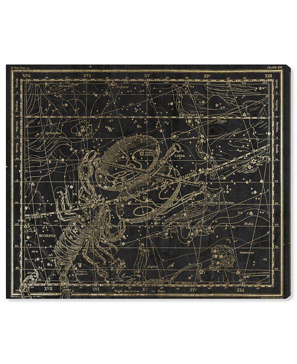 "Oliver Gal Libra and Scorpio Canvas Art, 24"" x 20"""