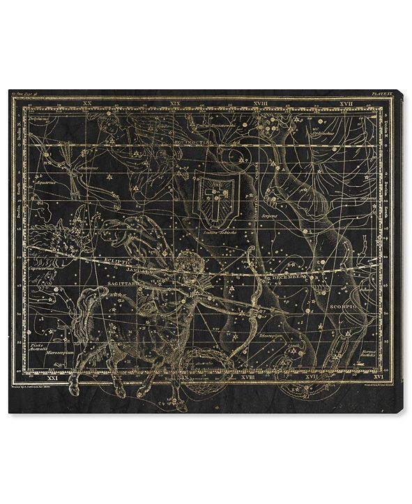 """Oliver Gal Sagittarius Canvas Art, 20"""" x 17"""""""