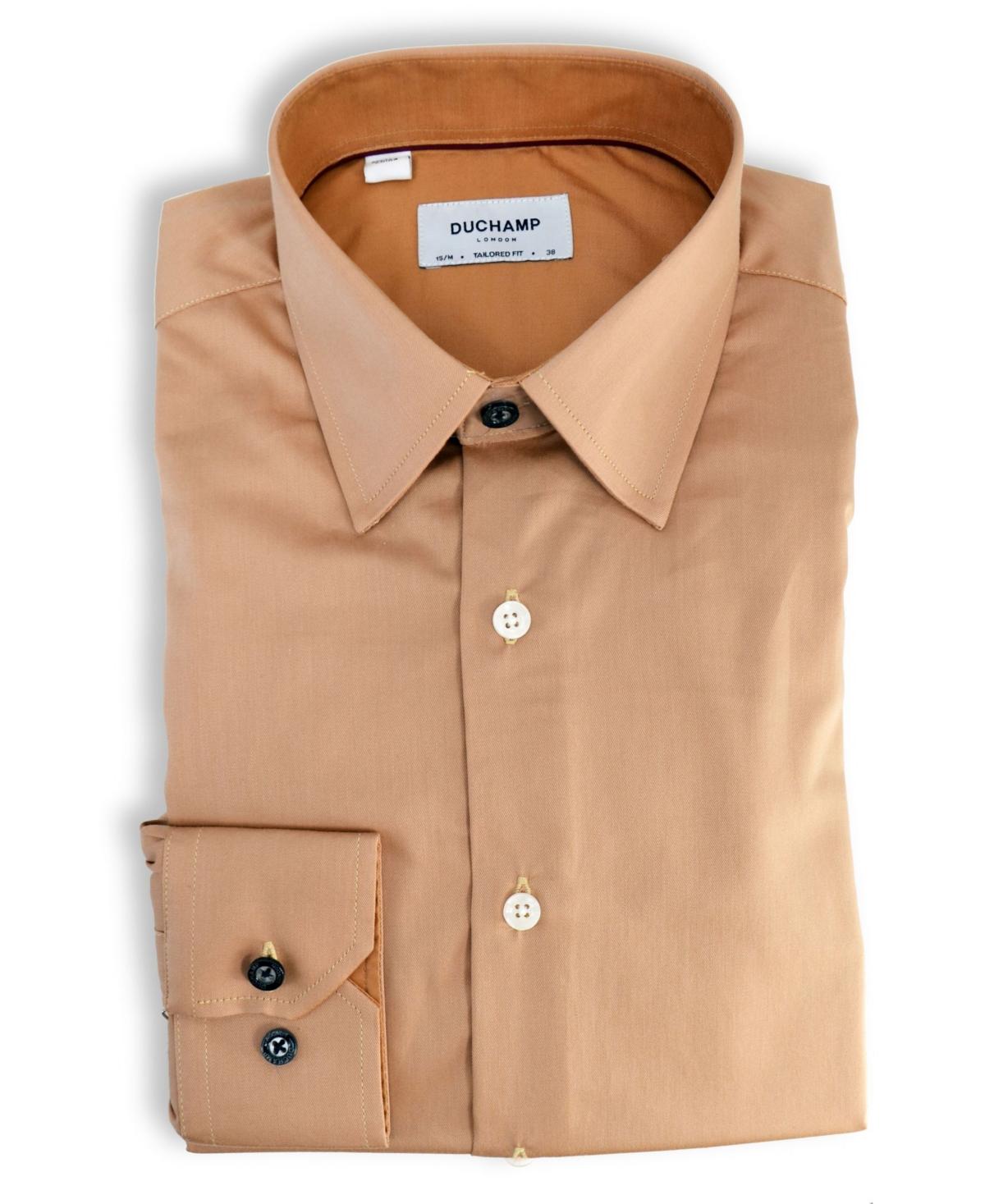 Duchamp London Solid Dress Shirt