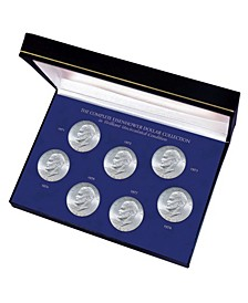 Complete Eisenhower Dollar Collection in Brilliant Uncirculated Condition