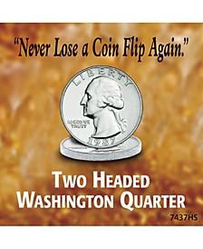 Two Headed Washington Quarter